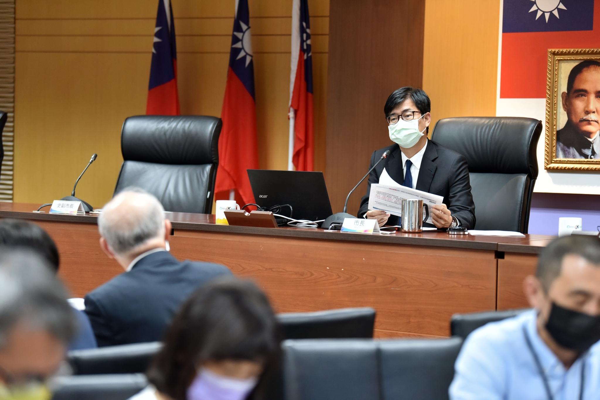 4/21開放AZ疫苗自費接種  陳其邁鼓勵民眾施打提升免疫力