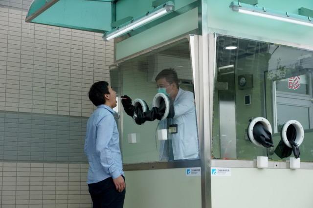 工研院以科技護衛臺灣防疫第一線  攜手醫院共同打造「正壓式檢疫亭」