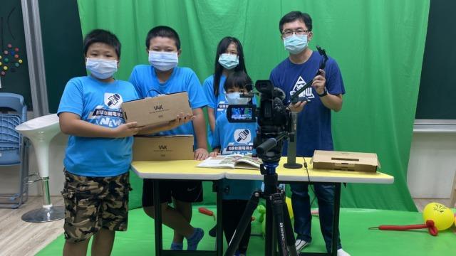 科技公司捐贈視訊教學攝影機 南市將培訓校園小記者小主播