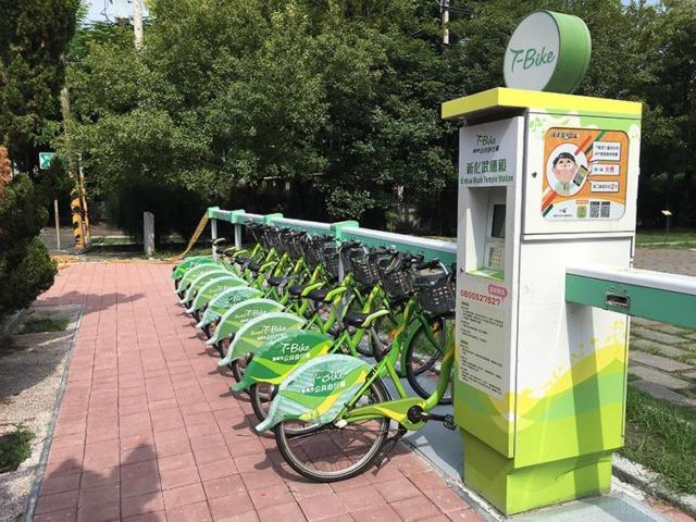 T-Bike新化武德殿站於7月27日啟用